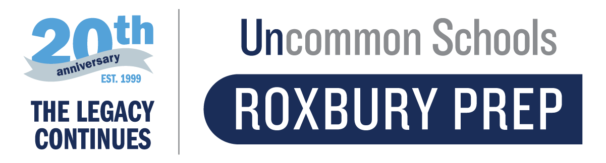 Roxbury Prep 20th logo